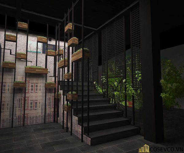 Nhà hàng lẩu nướng kết cấu khung thép đơn giản tinh tế - View 8