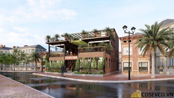Mẫu thiết kế nhà hàng khung thép sang trọng - View 5
