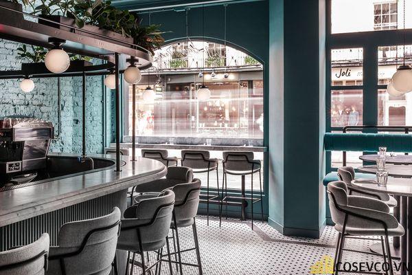 Mẫu thiết kế nhà hàng khung thép đẹp ấn tượng - View 3