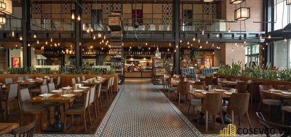 Mẫu thiết kế nhà hàng khung thép đẹp ấn tượng - View 4