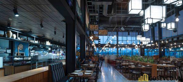 Mẫu thiết kế nhà hàng khung thép đẹp ấn tượng - View 5