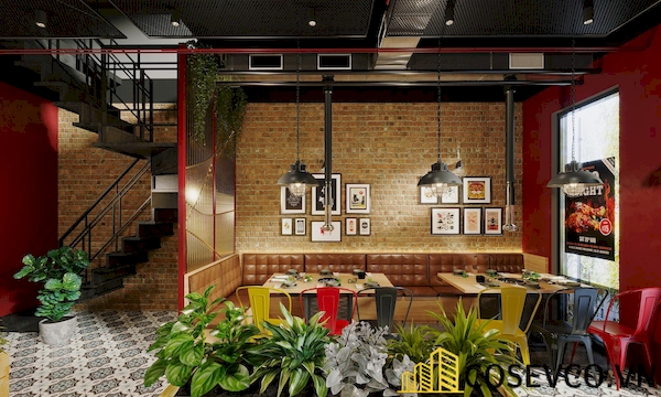 Thiết kế quán nướng BBQ - Hình ảnh 3