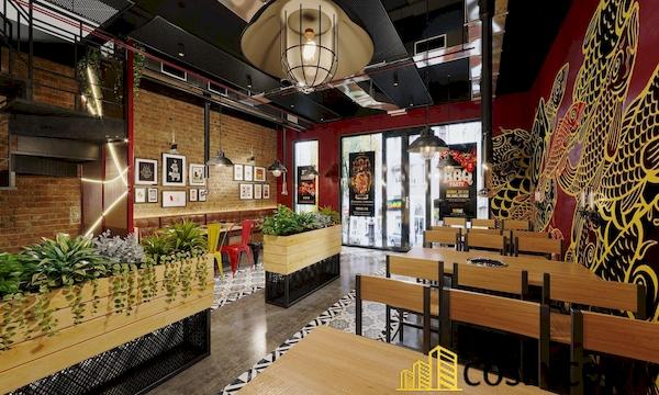 Thiết kế quán nướng BBQ - Hình ảnh 4