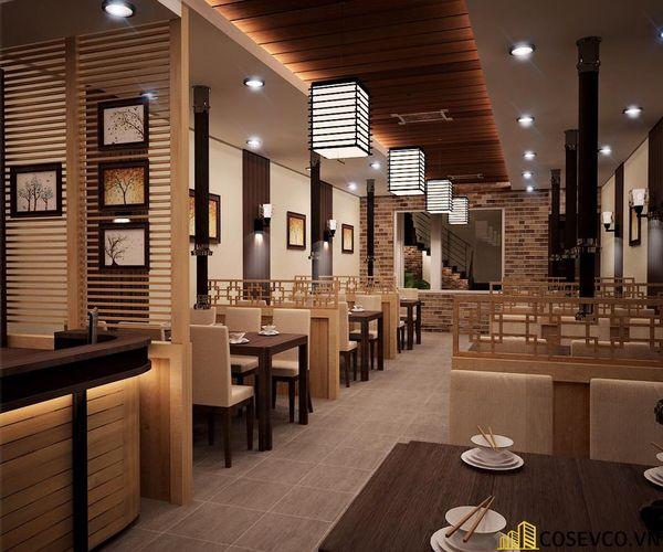 Phối cảnh thiết kế nhà hàng lẩu nướng đơn giản nhưng cực kỳ sang trọng - View 6