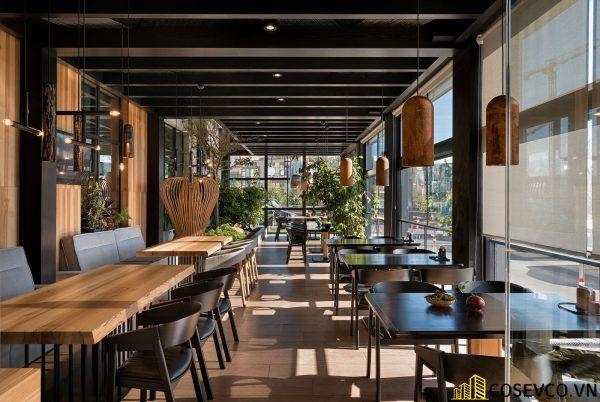 Mẫu thiết kế nhà hàng Nhật hiện đại - View 1