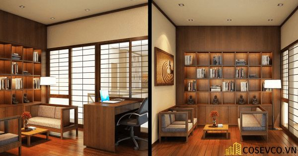 Bố trí nội thất nhà hàng Nhật sang trọng - View 8