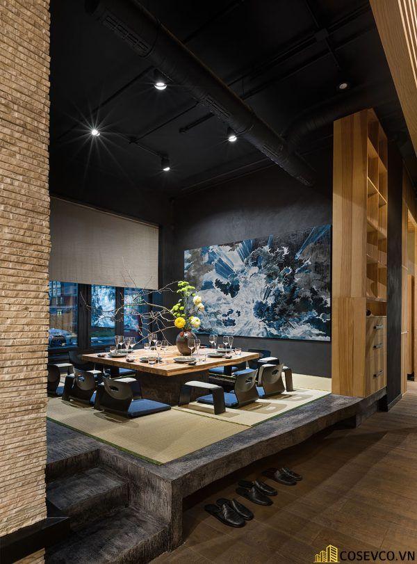 Mẫu thiết kế nhà hàng Nhật hiện đại - View 8