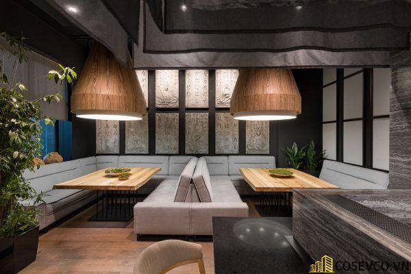 Mẫu thiết kế nhà hàng Nhật hiện đại - View 7