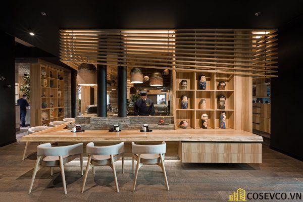 Mẫu thiết kế nhà hàng Nhật hiện đại - View 5