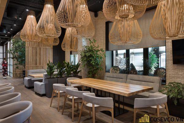 Mẫu thiết kế nhà hàng Nhật hiện đại - View 4
