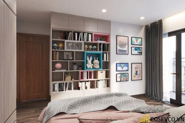 Bố trí nội thất căn hộ chung cư 100m2 - 3 phòng ngủ đẹp - View 12