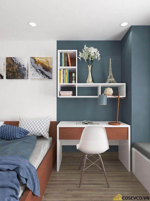 Thiết kế nội thất chung cư 100m2 với 2 phòng ngủ đẹp - View 11