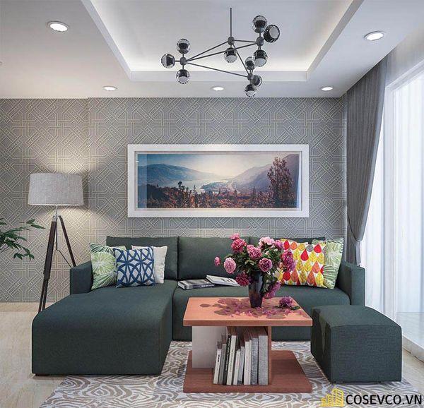 Thiết kế nội thất chung cư 100m2 với 2 phòng ngủ đẹp - View 1