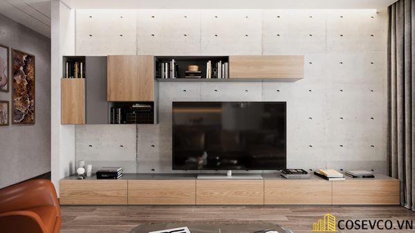 Bố trí nội thất căn hộ chung cư 100m2 - 3 phòng ngủ đẹp - View 2