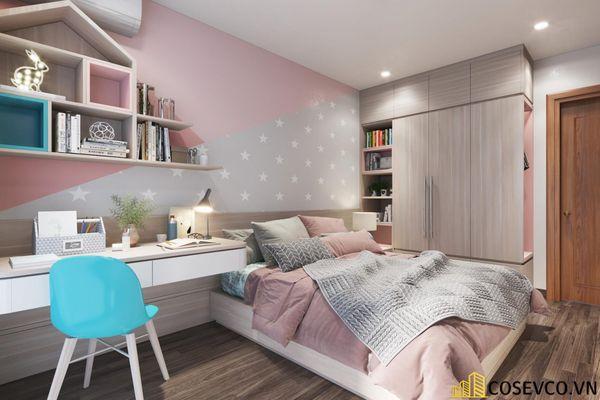 Bố trí nội thất căn hộ chung cư 100m2 - 3 phòng ngủ đẹp - View 11