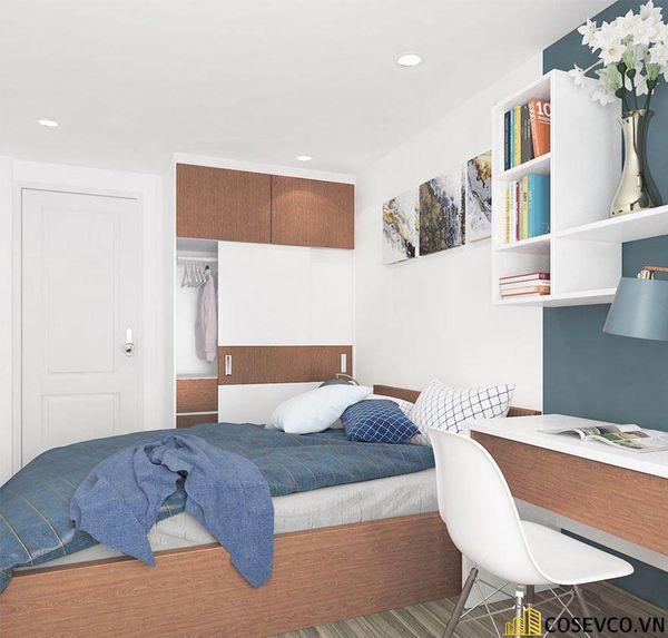 Thiết kế nội thất chung cư 100m2 với 2 phòng ngủ đẹp - View 10