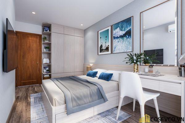 Bố trí nội thất căn hộ chung cư 100m2 - 3 phòng ngủ đẹp - View 10
