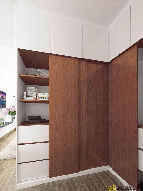 Thiết kế nội thất chung cư 100m2 với 2 phòng ngủ đẹp - View 9