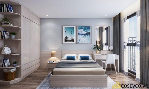 Bố trí nội thất căn hộ chung cư 100m2 - 3 phòng ngủ đẹp - View 9