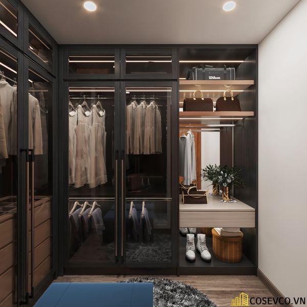 Bố trí nội thất căn hộ chung cư 100m2 - 3 phòng ngủ đẹp - View 8