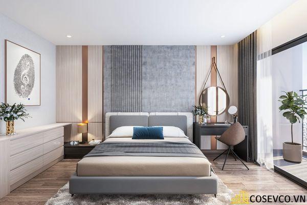 Bố trí nội thất căn hộ chung cư 100m2 - 3 phòng ngủ đẹp - View 7
