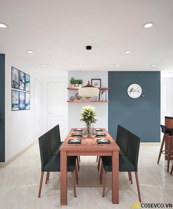 Thiết kế nội thất chung cư 100m2 với 2 phòng ngủ đẹp - View 5