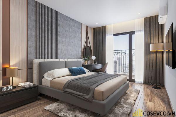 Thiết kế nội thất chung cư 3 phòng ngủ - Phòng ngủ master