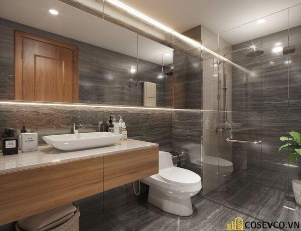 Thiết kế nội thất chung cư 3 phòng ngủ - Nội thất phòng ngủ master