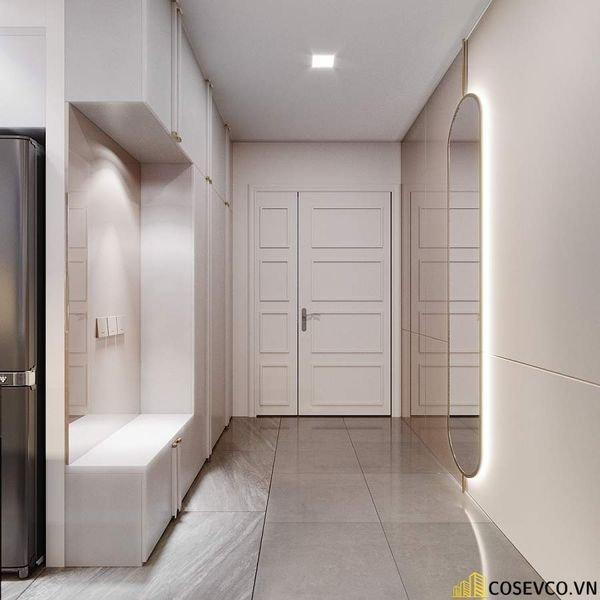 Thiết kế nội thất chung cư 70m2 tối giản