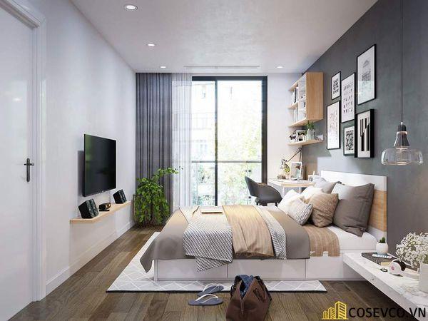Mẫu thiết kế nội thất chung cư 80m2 3 phòng ngủ - Phòng ngủ
