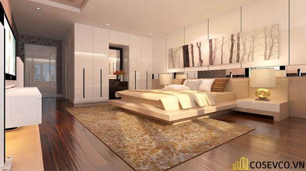 Mẫu thiết kế phòng ngủ 20m2 đơn giản hiện đại - M4