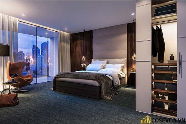 Mẫu thiết kế phòng ngủ 20m2 đơn giản hiện đại - M9