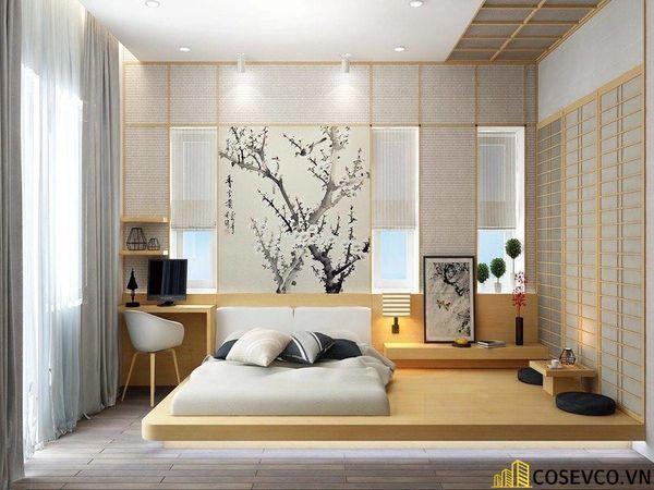 Mẫu thiết kế phòng ngủ 20m2 đơn giản hiện đại - M7