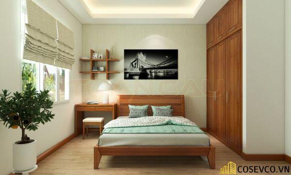 Mẫu thiết kế phòng ngủ 20m2 đơn giản hiện đại - M6