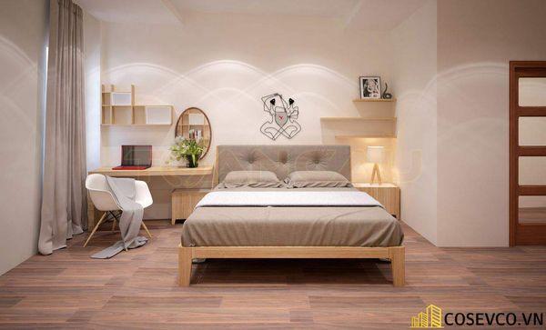 Mẫu thiết kế phòng ngủ 20m2 đơn giản hiện đại - M5