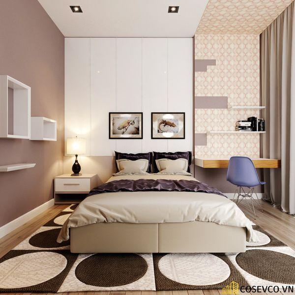 Mẫu thiết kế nội thất phòng ngủ 20m2 cho vợ chồng - M5