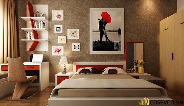 Mẫu thiết kế phòng ngủ 20m2 đơn giản hiện đại - M3