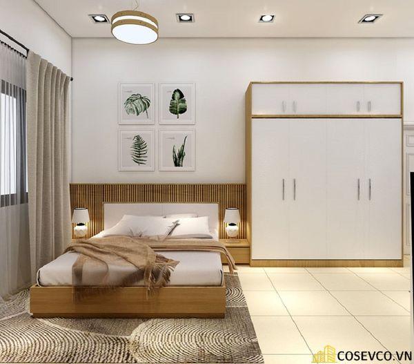 Thiết kế phòng ngủ 20m2 có toilet hiện đại và khoa học - Mẫu 9