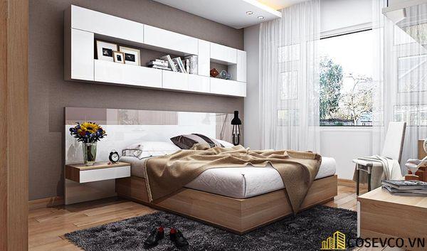 Thiết kế phòng ngủ 20m2 có toilet hiện đại và khoa học - Mẫu 7