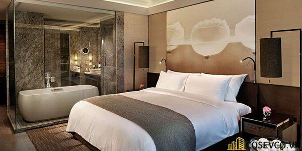 Thiết kế phòng ngủ 20m2 có toilet hiện đại và khoa học - Mẫu 6