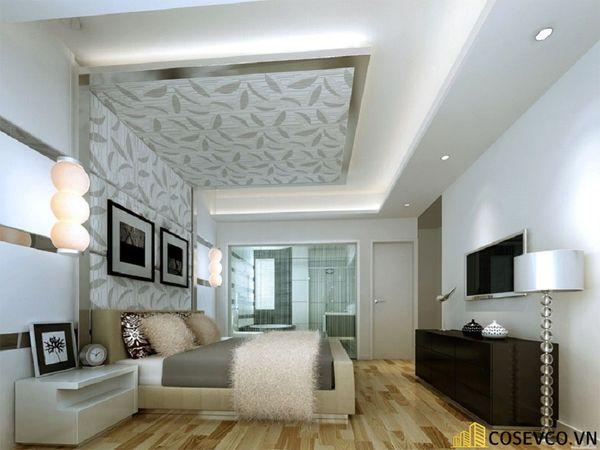 Thiết kế phòng ngủ 20m2 có toilet hiện đại và khoa học - Mẫu 3
