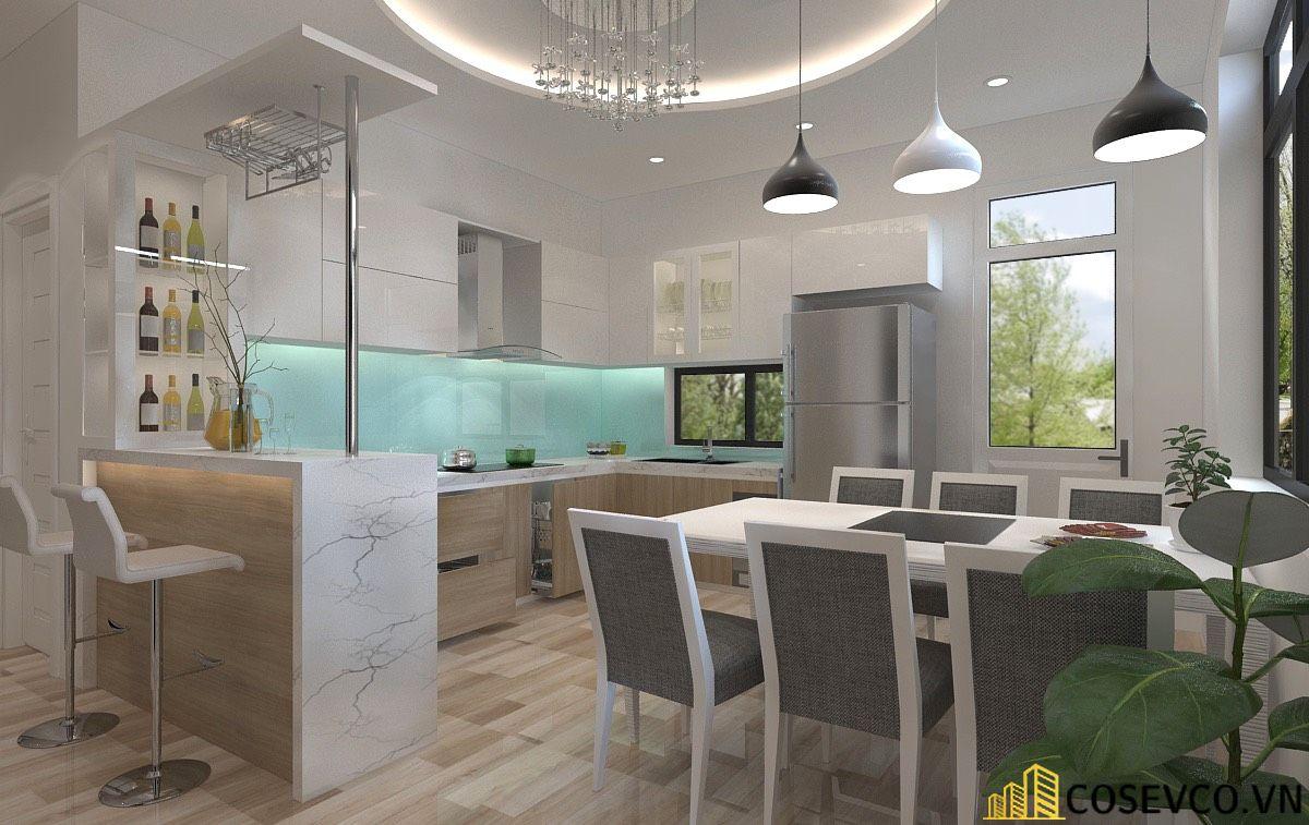 Ý tưởng trang trí bếp nhà cấp 4 đẹp - Mẫu 6