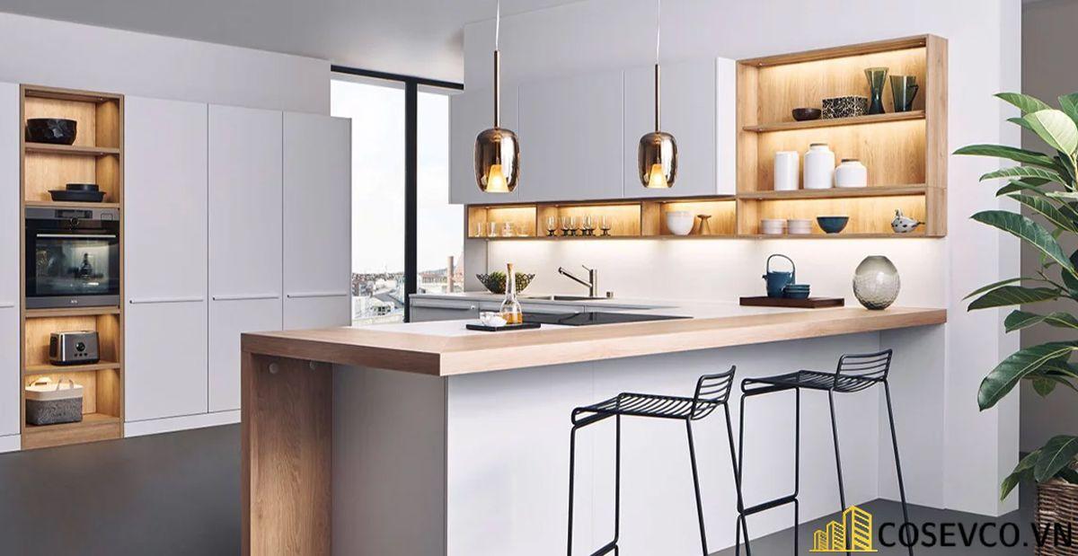 Trang trí nhà bếp bằng kệ để đồ nhỏ gọn - M2