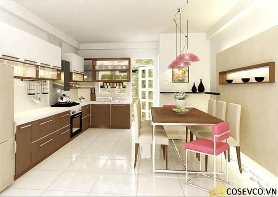 Ý tưởng trang trí bếp nhà cấp 4 đẹp - Mẫu 4