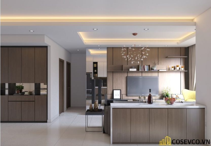 Ý tưởng trang trí bếp nhà cấp 4 đẹp - Mẫu 2