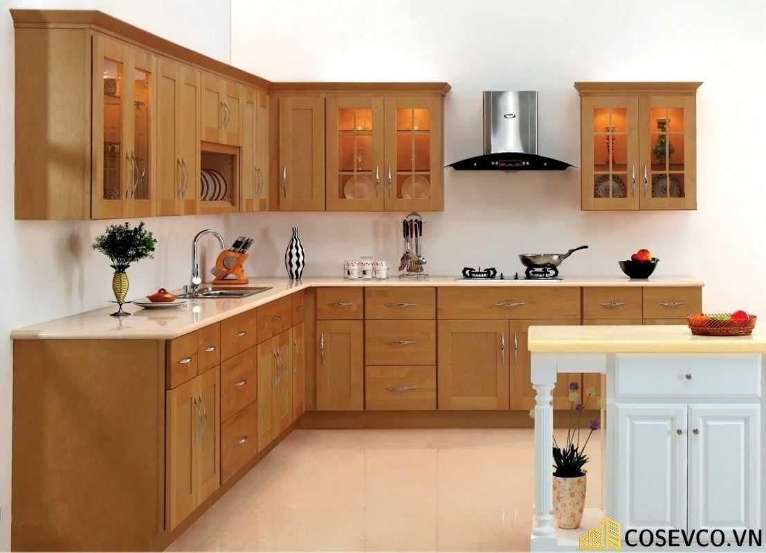 Ý tưởng trang trí phòng bếp nhà ống đẹp - Mẫu 2