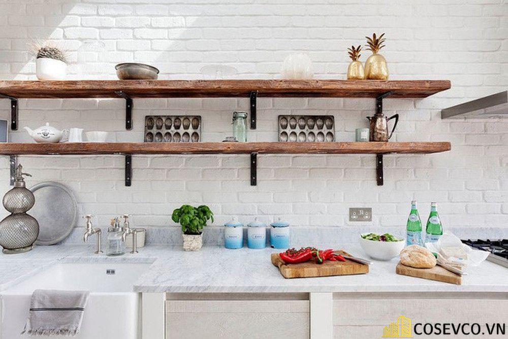 Trang trí nhà bếp bằng kệ để đồ nhỏ gọn - M7