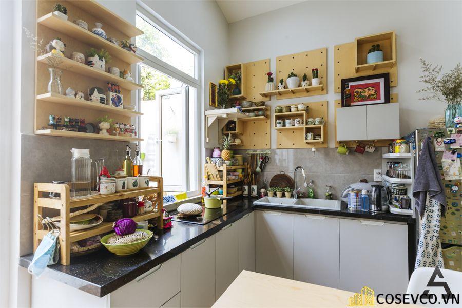 Trang trí tủ bếp nhằm giúp cho không gian bếp được trở nên sinh động - H3