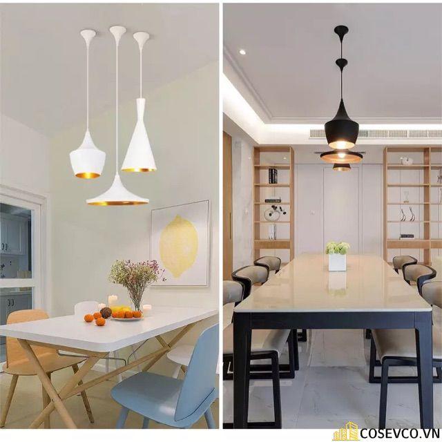 Trang trí bếp bằng đèn treo ấn tượng - M5