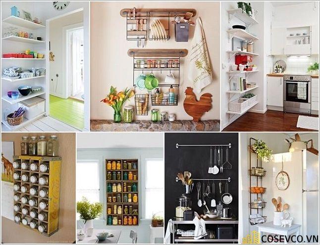 Trang trí tủ bếp nhằm giúp cho không gian bếp được trở nên sinh động - H4